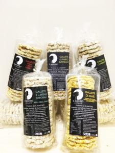 Gallette di cereali soffiate in 5 versioni