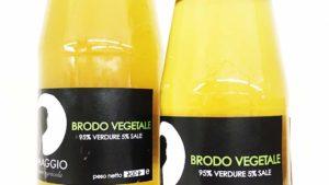 Brodo vegetale 95% verdure e 5% di sale